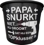 Klusemmer Papa snurkt niet Topklusser