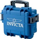 Invicta Horlogebox voor 3 horloges - Blauw