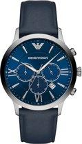 Emporio Armani Chronograaf horloge  - Blauw