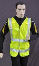 Safeways HiViz 6 LED reflecterend Veiligheidsvest EN471 Klasse 2