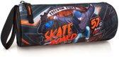 El Charro - Etui Rond - Skateboard - Zwart - 21 cm