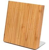 Letalis magnetisch messenblok van Bamboe hout | Magnetische messenhouder van hout zonder messen | Messenblok magneet Perfect voor een opgeruimde keuken!
