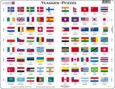 Puzzel Maxi Vlaggen van de Wereld - 80 stukjes