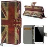 UK Vlag Wallet case hoesje iPhone 6 Plus