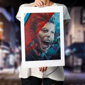 David Bowie art print (50x70cm)