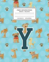 Primary Composition Notebook Grades K-2 Story Journal Y
