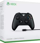 Xbox One Wired Gaming Controller - Zwart