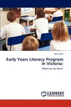 Early Years Literacy Program in Victoria