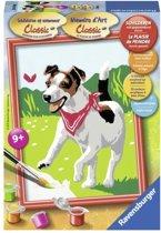 Ravensburger Schilderen Op Nummer: Hond Met Vlinder