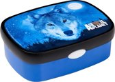 Rosti Mepal Animal Planet Lunchbox Wolf Blauw