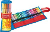 STABILO Pen 68 Rollerset Fan Edition - Blauw