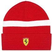 Scuderia Ferrari Beanie / Muts Rood