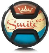 Kaiser Lens Cap Snap-On Style Smile Now 72mm