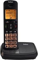 Profoon PDX-2908 Big button DECT telefoon | Grote verlichte toetsen en groot verlicht display | Zwart
