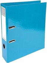 10x Exacompta Iderama ordner, A4, rug van 7cm, lichtblauw