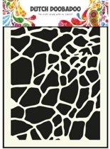 Dutch Doobadoo Dutch Mask Art stencil giraffe - A5 470.715.003