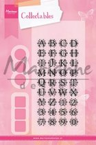 Marianne Design Collectables alfabet COL1380