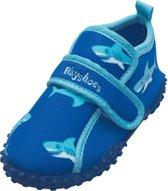 Playshoes UV strandschoentjes Kinderen Shark - Blauw - Maat 18/19