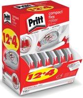 PRITT correctieroller compact flex 4,2MM - 12+4 GRATIS