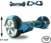 Hoverboard Beschermhoes Army Blauw | 6,5 inch | Pride Kings®