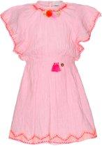 Mim-pi Meisjes Jurk - Roze - Maat 116