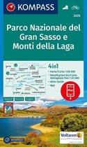 Kompass WK2476 Gran Sasso Nationaal Park e Monti della Laga