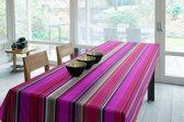 Luxe Stoffen Tafellaken - Tafelkleed - Tafelzeil - Bilbao Fuchsia