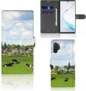 Samsung Galaxy Note 10 Plus Telefoonhoesje met Pasjes Koeien