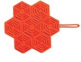 Mastrad Onderzetter - Siliconen - Opvouwbaar - Rood