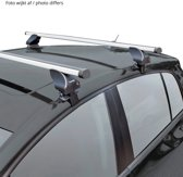 Twinny load Dakdragerset Twinny Aluminium A25 semi pasvorm (voor auto's zonder dakreling)