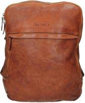 DSTRCT Pearl Street Rugzak - 15,6 inch laptoptas - Cognac