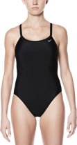 Nike Swim Racerback One Piece Dames Badpak - Black - Maat 42