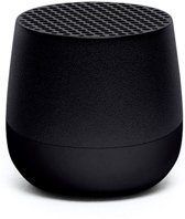Lexon MINO Mini Bluetooth Speaker - Black Zwart