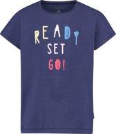 Noppies Meisjes Slimfit T-shirt Romano - Patriot Blue - Maat 110