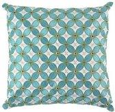 Room Seven Gemma Decoratiekussentje - Blauw - 30x30
