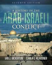A History of the Arab Israeli Conflict