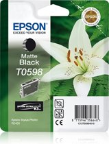 Epson T0598 - Inktcartridge Mat zwart