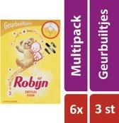 Robijn Zwitsal Geurbuiltjes - 6 x 3 stuks - Voordeelverpakking