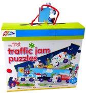 Grafix My First Traffic Jam Puzzles - 70x26cm - 30 stukjes - 2 stuks
