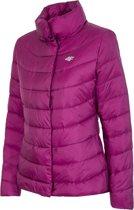 4F Women's Jacket H4Z17-KUD009PURPLE, Vrouwen, Paars, Sportjas maat: L