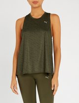 PUMA Ignite Tank W Sporttop Dames - forest night-puma black