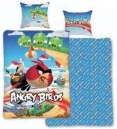 Dekbed Angry Birds blauw: 140x200 cm