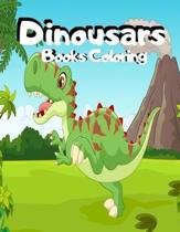 Dinousars Books Coloring