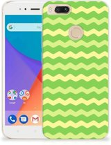 TPU bumper Xiaomi Mi A1 Waves Green