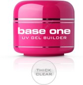 Silcare Base One Builder Gel Thick Clear 30g