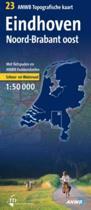 Eindhoven/Noord-Brabant oost topografische kaart