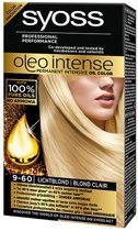 SYOSS Color Oleo Intense 9-60 Licht blond Haarverf  - 1 stuk