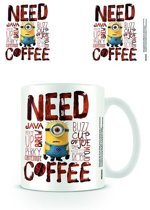 Starskie Minions Need Coffee Boxed Mug