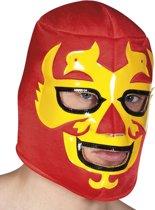 Worstelaar masker voor volwassenen - Verkleedmasker