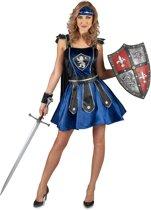 Leeuwen ridder kostuum voor vrouwen - Verkleedkleding - Maat M